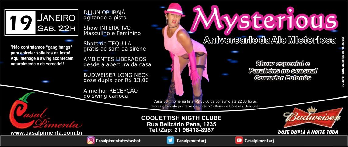 19/01 Festa Mysterious - Blog Casal Pimenta