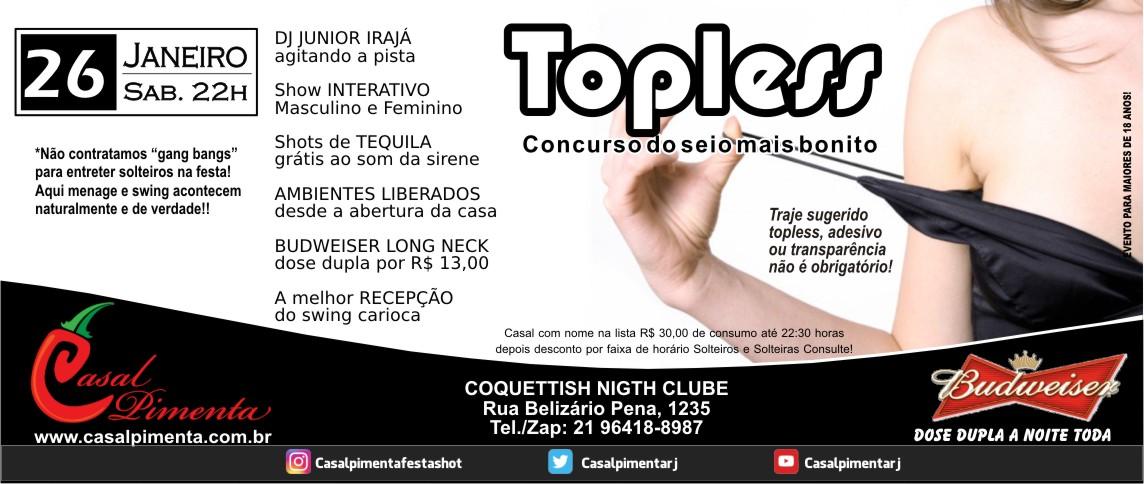 26/01 Festa Topless - Blog Casal Pimenta