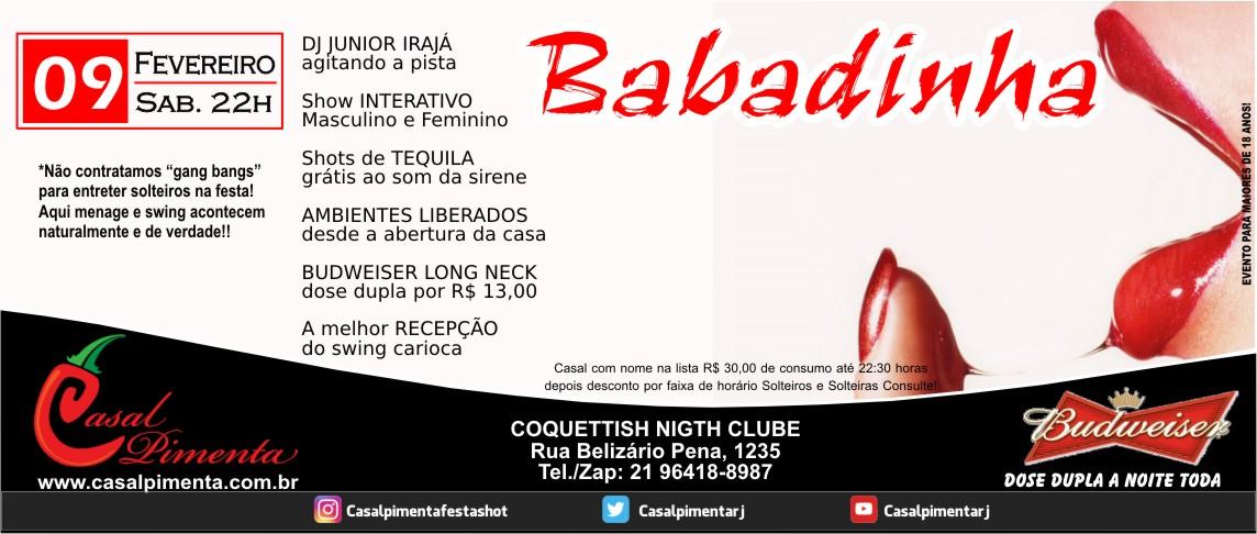 09/02 Festa Babadinha - Blog Casal Pimenta