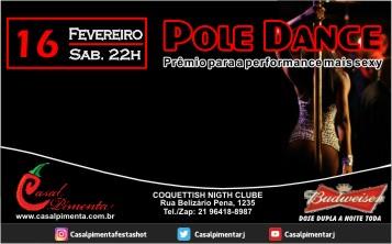 16/02 Festa Pole Dance - Blog do Casal Pimenta