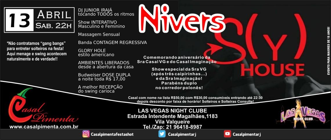 13/04 Festa Sy House Nivers - Blog Casal Pimenta