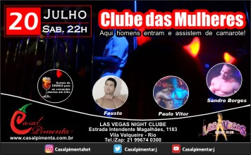 20/07 Clube das Mulheres - Blog do Casal Pimenta