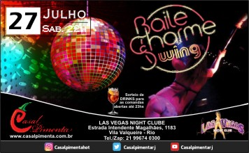 27/07 Festa Baile Charme Swing - Blog do Casal Pimenta