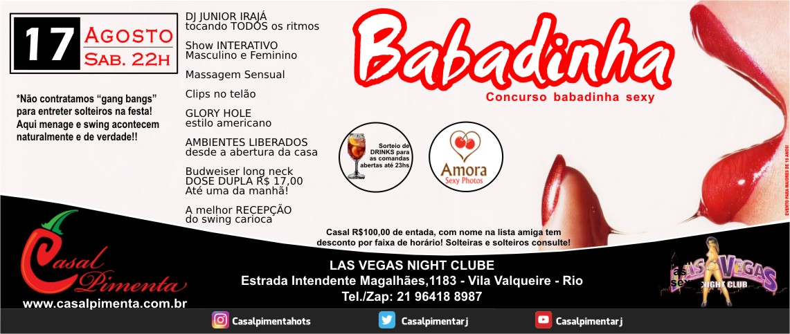 17/08 Festa Babadinha - Blog Casal Pimenta
