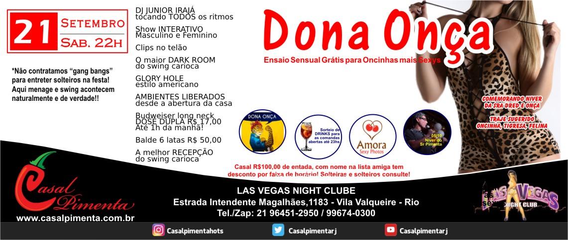 21/09 Festa Dona Onça - Blog Casal Pimenta