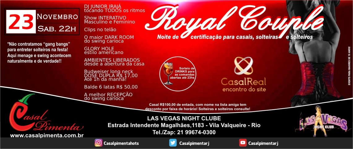 23/11 Festa Royal Couple - Blog Casal Pimenta
