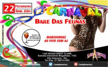 22/02 Baile das Felinas - Blog do Casal Pimenta