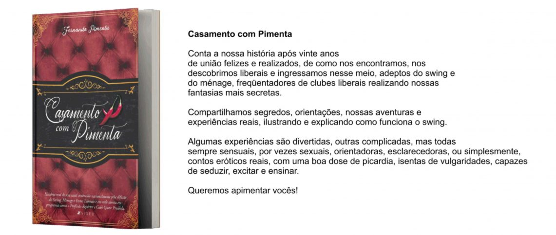 30/06 Lançamento on line do nosso livro! - Blog Casal Pimenta