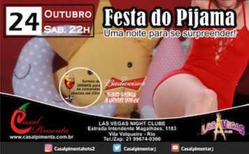 24/10 Festa do Pijama - Blog do Casal Pimenta