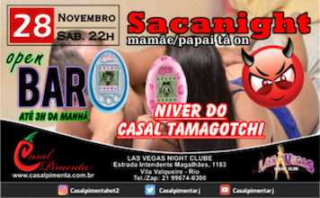 28/11 Festa Sacanight Open Bar