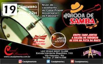 19/12 Festa Roda de Samba